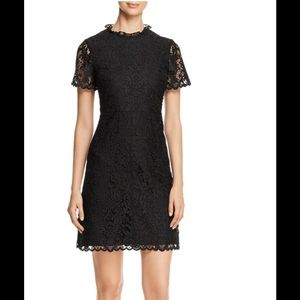 kate spade new sz 8 tapestry lace a-line
